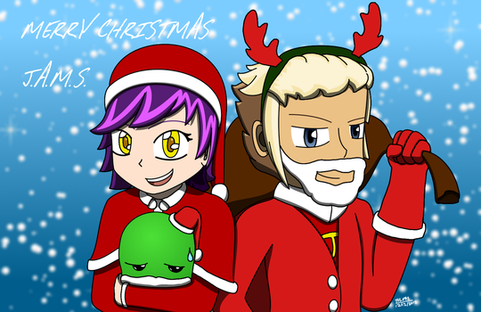 Merry Christmas from J.A.M.S. by tulf42