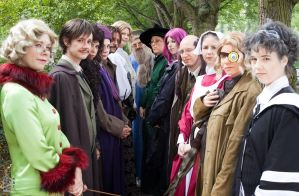 2009: Harry Potter Group by shari81