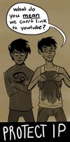 Homestuck Against Protect IP Bill by jansLabyrinth