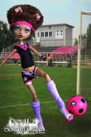 School Spirit Clawdeen by KittRen