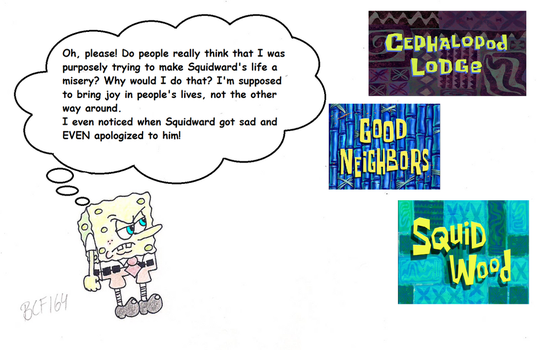 SpongeBob talking about some episodes #1 by BobClampettFan164