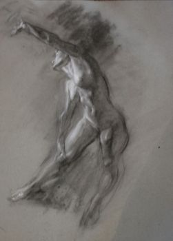Charcoal nude 3 by roughin