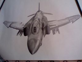 F-4 Jet by phonso31
