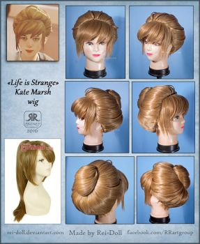 Life Is Strange - Kate Marsh wig commission by Rei-Doll