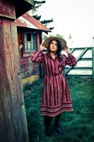 In The Little Red House There Lived... by irinaburchak