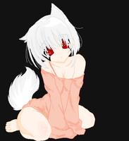 Chi my lil wolf girl by Psychodownthestreet