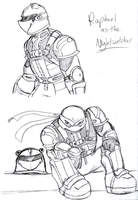 Nightwatcher Doodles by R2ninjaturtle