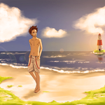The Beach by madelares