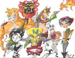 Crash Bandicoot: My Evil Fan Crew by mcp100