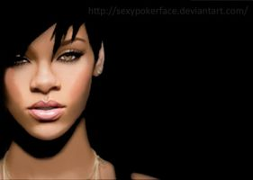Rihanna by sexyPokerFace