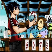 Gray Fullbuster Ch 98 by ErzaxTitania