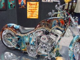 Gen Con 2009 - Artistic Harley by RBL-M1A2Tanker