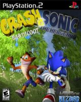 Crash Vs. Sonic, PS2 Cover by CrashFreak