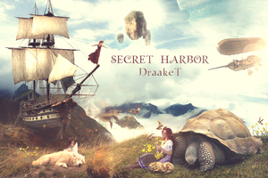 Secret Harbor by DraakeT 1980x1318 by DraakeT