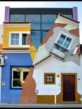 Strange House in Chamusca ( Portugal ) . by AzullyX