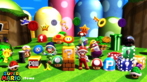 (MMD Prop) Super Mario Items Download by SAB64