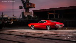 1972 Ford Gran Torino - Shot 6 by AmericanMuscle