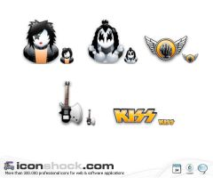 Kiss Sigma Icons by Iconshock