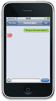 iPhone SMS chat extra smiley by 5-G