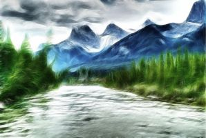 The River by Bazz-photography