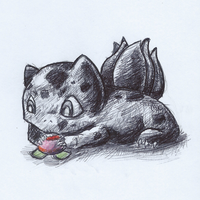001 Bulbasaur by jmonkey2105