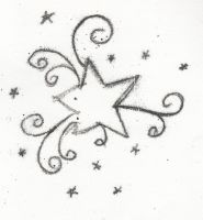 PRINTMAKING 2 - star design by darkened-storm