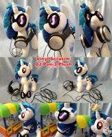 Vinyl scratch plush by Kitara88