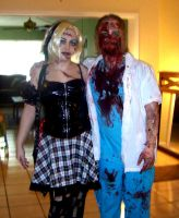 Living doll And the Doctor Zombie by mandykat