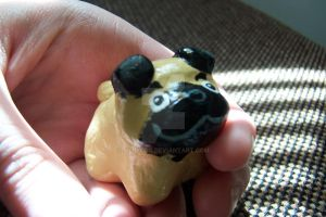 tinydog fig: Pug by JillyFoo