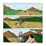 Cavaleiro-pag01color by Arquiles