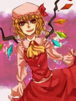 Touhou: Flandre by skull-r0ckerx3