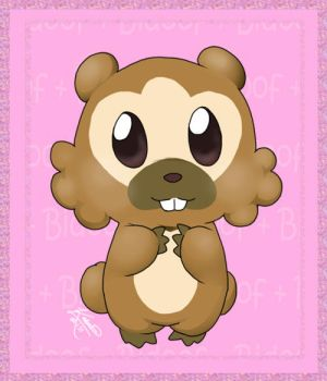 Bidoof by mewgal