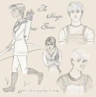 Hunger Games Sketches by ggns