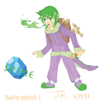 Humanized Spike (MLP FiM)) by Arteses-Canvas