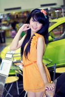 girl by the car by fdjs