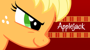 Applejack 'Determination' Wallpaper by techs181