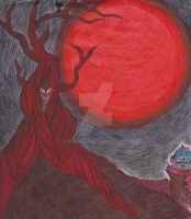 Blood Red Night. by kuroi-chi2
