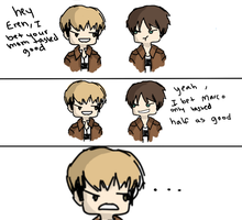 eren oh no you didnt by HappyNapperSlayer