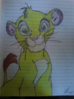 Simba as a cub by K9girl06