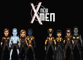 New X-Men (Earth 1) by Nova20X