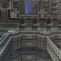 MB3D 112  silver town by Mariagat