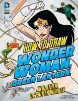 How to Draw DC Super Heroes cover by TimLevins