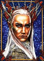 Thranduil - The Silver King by vvveverka