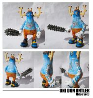 Oni Don Antler (Blue Version) by ExoesqueletoDV