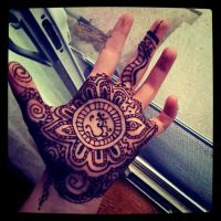 Henna Palm Tattoo by MonteyRoo