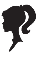 Female Silhouette Profile by snicklefritz-stock