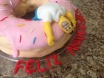 Homer Simpson Cake by bruhway