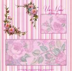 Pink Floral Layout by TheDarkDesert