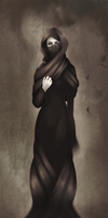 Woman in Burka (study) by Amicherina