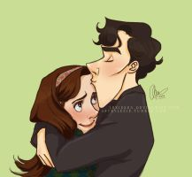 Sherlolly cuddles by lexieken